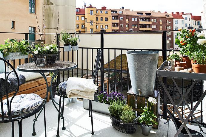 Möbler Balkong  Michela Castellari