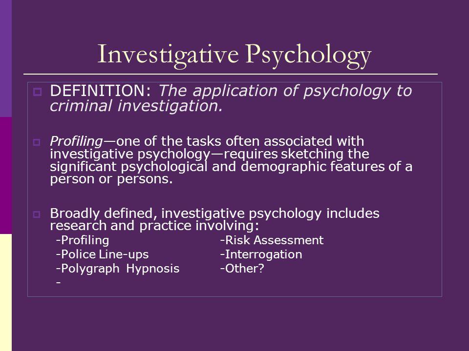 Investigative+Psychology