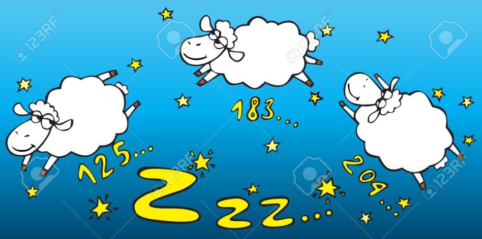 12144880-Contare-le-pecore-Archivio-Fotografico